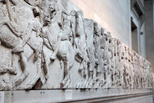 Fregio del Partenone, conservato al British Museum.