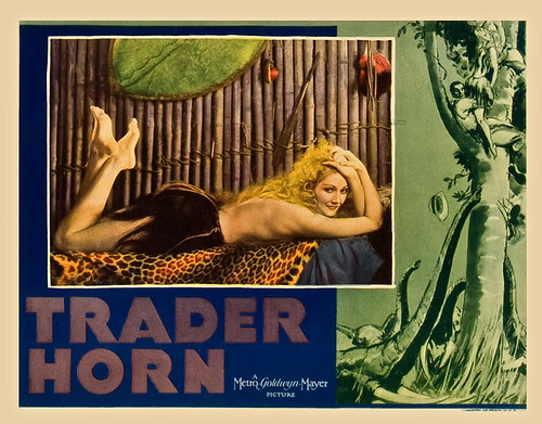 Trader Horn (MGM, 1931). Colorized Lobby Cards,