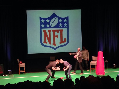 NFL Fan Night with Jonathan Babineaux and John Sullivan @ Mermaid Conference Centre, Blackfriars, London 27/03/2014