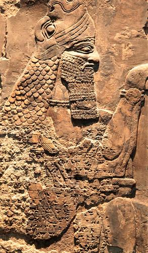 Bassorilievo Assiro al British Museum (4)