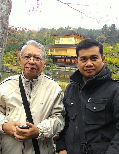 Prof. Dr. Ir. Bagio Budiardjo, M.Sc and Anak Agung Ngurah Gde Sapteka.