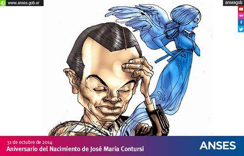 31 de octubre. Aniversario del Nacimiento de  José María Contursi