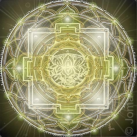 Joma Sipe, Mandala III Illuminated Version