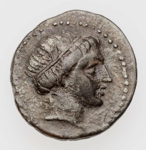Hemidrachm of Kingdom of Thrace with head of youth, struck under Lysimachos