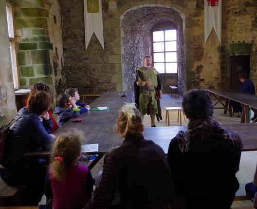 Château de Saint Mesmin histoires de chevalerie