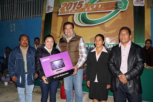 Gobierno de Oaxaca, Alumnos de 18 planteles del IEBO se reúnen en el Interbachilleres de la Sierra Juárez, Oaxaca