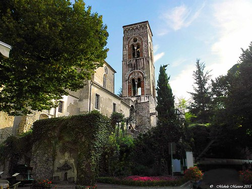 Ravello, Il Campanile del Duomo,The bell tower of the Cathedral