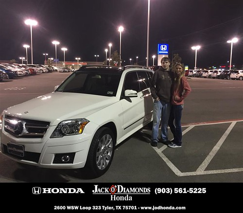 Congratulations to Connor And Jennifer Branch on your #Mercedes-Benz #GLK-Class purchase from Cody Hieronimus at Jack O Diamonds Honda! #NewCar