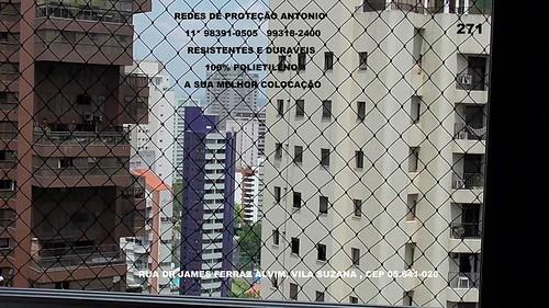 Rua Dr. James Ferraz Alvim, Vila Suzana, CEP 05.641-020,Redes de Proteção no  Condominio Edificio Quinta de Bragança ,fones  : ☏  5524-7412       ☏   5541-8283  ☏ 98391-0505 Tim   ☏ 99318-2400 Claro