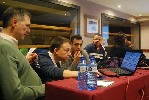 Miquel Illescas, Karen Grigoryan i Michael Rahal