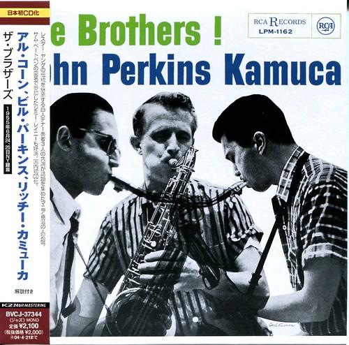Al Cohn & Bill Perkins & Hal McKusick:Three Brothers !
