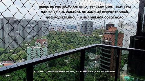 Rua Dr. James Ferraz Alvim, Redes de Proteção na Vila Suzana, CEP 05.641-020, Condominio Edificio Quinta de Bragança ,A sua melhor colocação , Fones  : ☏  5524-7412       ☏   5541-8283  ☏ 98391-0505 Tim   ☏ 99318-2400 Claro