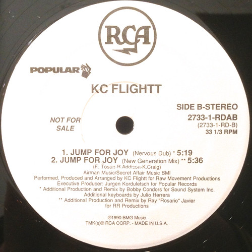 KC FLIGHTT:JUMP FOR JOY(LABEL SIDE-B)