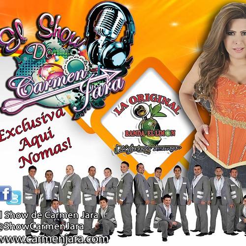 MAS PUESTA QUE UN CALCETÍN PARA TRAERLE A USTEDES LAS MEJORES EXCLUSIVAS!! MAÑANA EN VIVO Y EN DIRECTO CON NOSOTROS  EN EL SHOW DE CARMEN JARA LA ORIGINAL BANDA EL LIMÓN    @Originallimon  MIS CORAZONES HERMOSOS❤️  @CarmenJaraStar @ShowCarmenJara ES