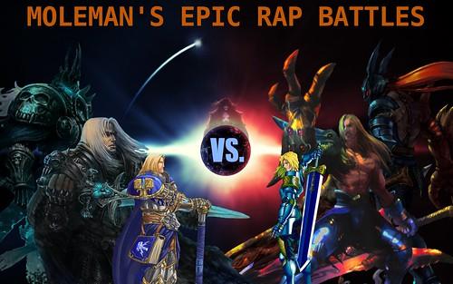 Moleman's Epic Rap Battles #22: Siegfried Vs. Arthas