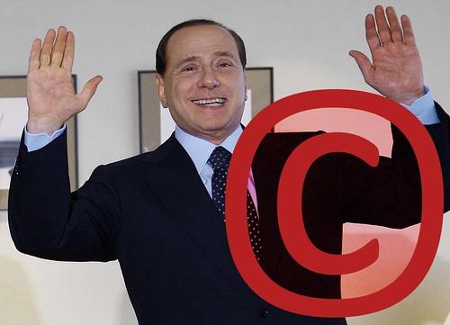 Silvio Berlusconi, marca registrada