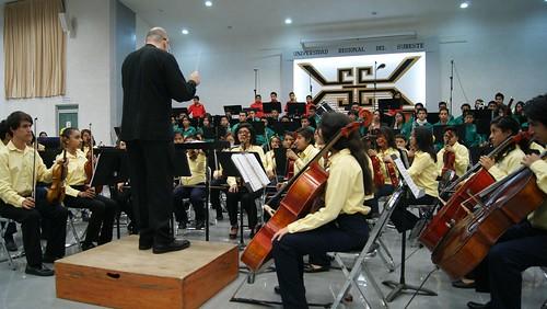 """Gobierno de Oaxaca, Exitosa presentación del recital """"Carmina Burana"""" en la URSE, Oaxaca"""