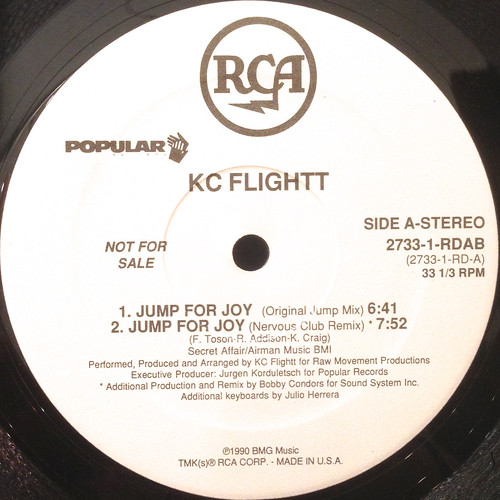 KC FLIGHTT:JUMP FOR JOY(LABEL SIDE-A)