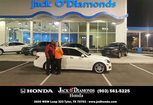 Congratulations to James & Yonne Walker on your #Mercedes-Benz #C-Class purchase from Dan Stanley at Jack O Diamonds Honda! #NewCar