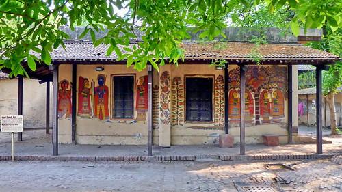 India - Delhi - National Crafts Museum - Madhubani Painting - 5