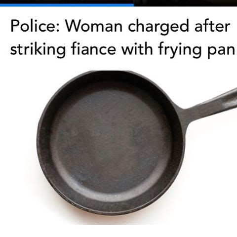 SALISBURY, Md. (AP) - Police say a Maryland woman struck her fiance with a frying pan after an argument and now faces charges.  The Daily Times of Salisbury reports 32-year-old Kiesha Latasha Lee of Salisbury was arrested on charges including first-degree
