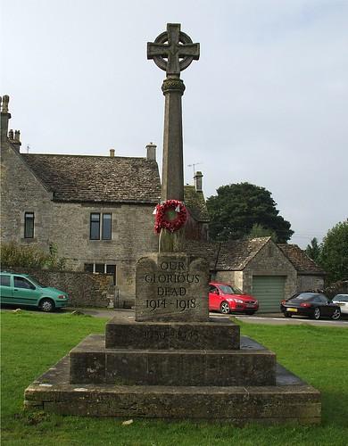 Amberley War Memorial, Gloucestershire