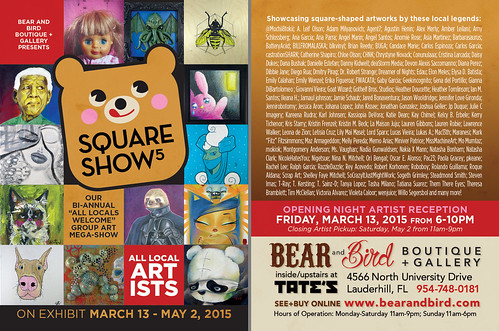 Square Show 5 Flyer