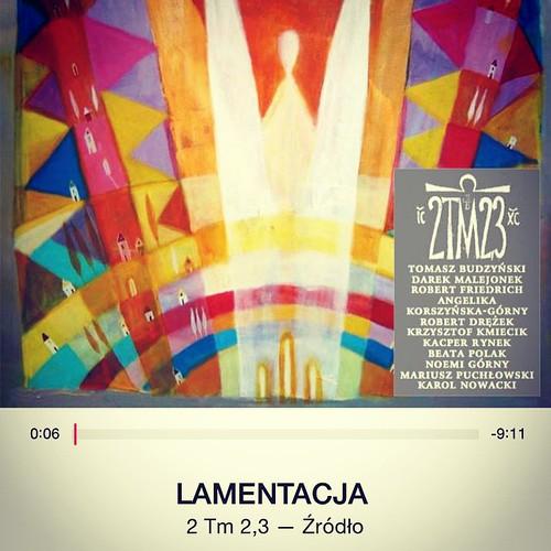 Się słucha :) #muzyka #2tm23 #tymoteusz #lamentacja #źródło #itunes #wiara