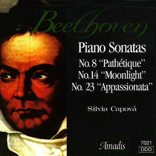 Beethoven Piano Sonatas Nos. 8 14 And 23 Silvia Capova Amadis