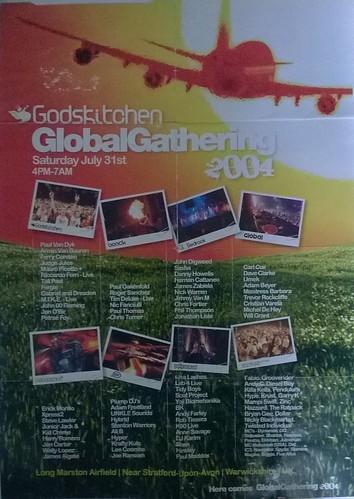 GODSKITCHEN GLOBAL GATHERING 2004 LIVE @ LONG MARSTON AIRFIELD , WARWICKSHIRE , ENGLAND , UK