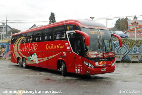 Queilen Bus #32 - Ancud (Chiloé) - Mascarello Roma 370