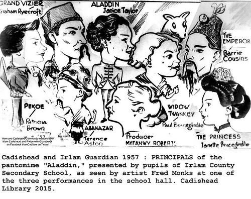 'Aladdin' earned best-ever label, Irlam panto 1957.