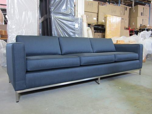 Club Sofa (reupholsterd) 6in. arm 3