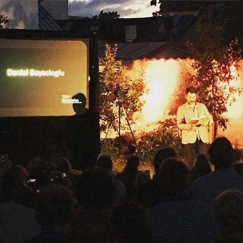 Daniel Boyacioglu. Alltid bra. #tedxalmedalen