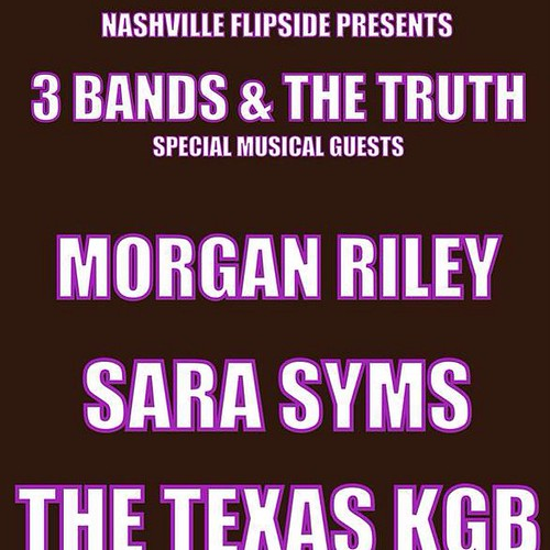 TOMORROW NIGHT at Douglas Corner! 9pm with Morgan Riley, Sara Syms and The Texas KGB!