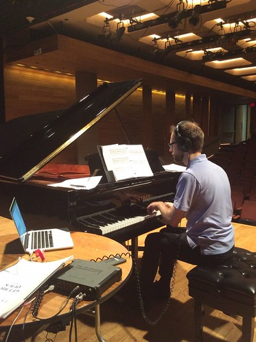 Keith Kirchoff dress rehearsal