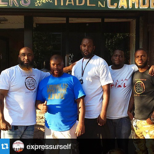 #Repost @expressurself with @repostapp.・・・#Repost @risingleaders with @repostapp.・・・@expressurself @16susq_el @kelroy_86 @uddabul_mar  This was an Historical day and I thank Allah for this day in particular and many days spent with you brothers... As we g