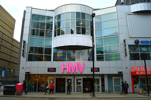 Gone Out Of Business .... HMV / Music Store .... 333 Yonge Street .... Toronto, Ontario