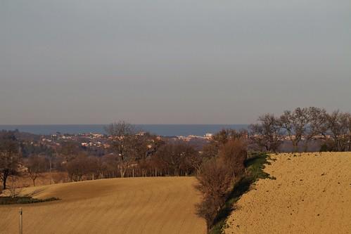 la collina e il mare - Pianello di Ostra