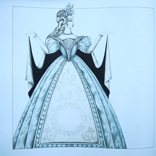 Artwork by Pet Halmen Inside Monteverdi - L' Orfeo, Ulisse, Poppea - Concentus Musicus Wien, Nikolaus Harnoncourt, Telefunken 6.35377 EK, Das alte Werk, Box 3Lp, 1976