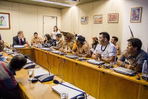 Secretaria-Geral recebe pedido de demarcação de terras indígenas do RS