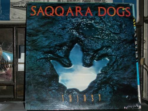 SAQQARA DOGS thirst LP SEALED original 1987 bond bergland factrix thick pigeon