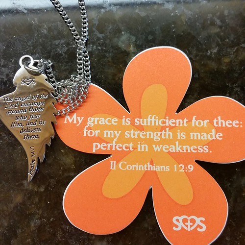 From a dear friend..thanks Kerri Crocker...i always love surprises ...especially when I need a Word from the Lord;-)