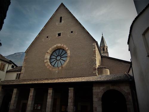 Bolzano/Bozen, Alto Adige/Südtirol, state of Italy (Franziskanerkloster, Convent of the Order of Friars Minor, Couvent de l'Ordre des Frères Mineurs, Convento de la Orden Franciscana, Convento dell'Ordine Francescano), Via dei Francescani/Franziskanerg.