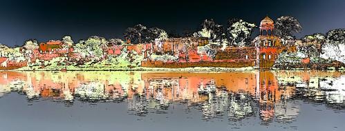 India - Uttar Pradesh - Agra - Old Palace - 2g