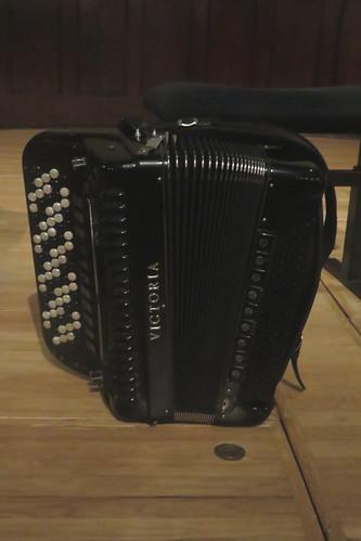 Accordions, Concertinas, etc. [Free Reed Instruments] 48: Chromatic Accordion [Free Bass] (of Richard Galliano)