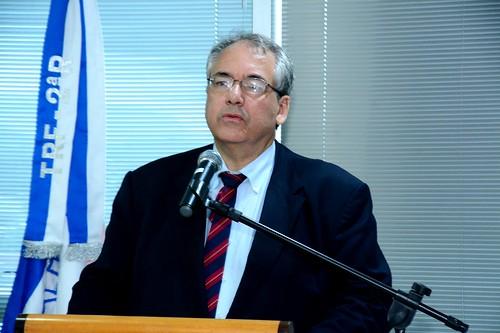 O Desembargador Federal André Fontes falou da satisfação de cumprir a promessa de trazer de volta à Itaboraí a Subseção Judiciária Federal, facilitando toda a populaçã