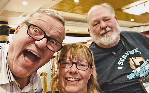 Debra Snider-Scott and Mark Scott with Mark Alan Lowry .