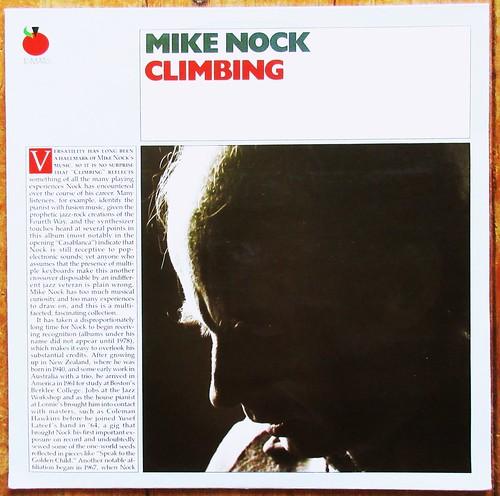 Mike Nock – Climbing