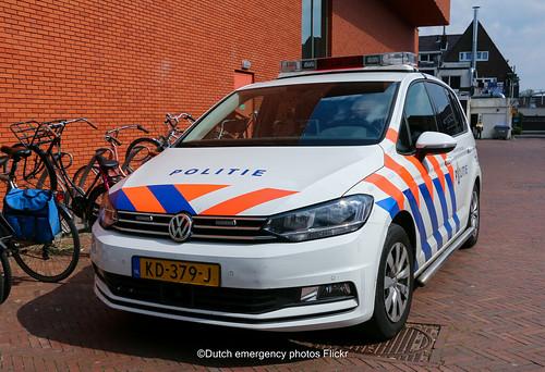 Dutch police Volkswagen Touran